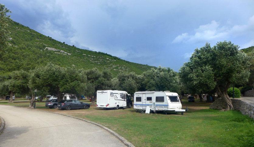 Ston Campingplatz Papratno Peljesac