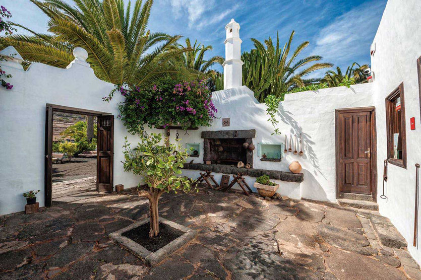 César Manriques Landhaus Museum Haría Lanzarote