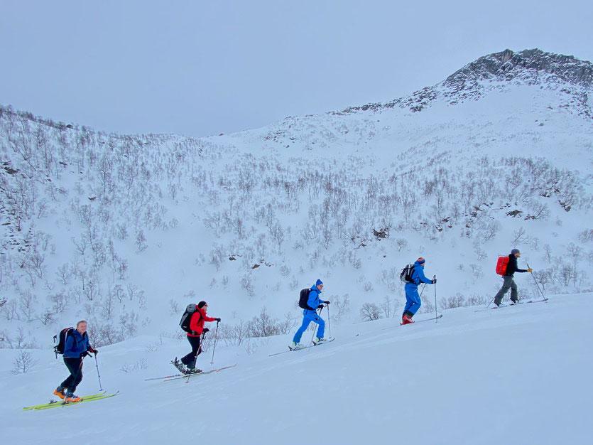 Norwegen Lofoten Skitouring