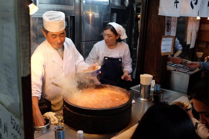 Kitsuneya Tsukiji Markt Tokyo Tsukiji Fish Market Outer Market restaurants