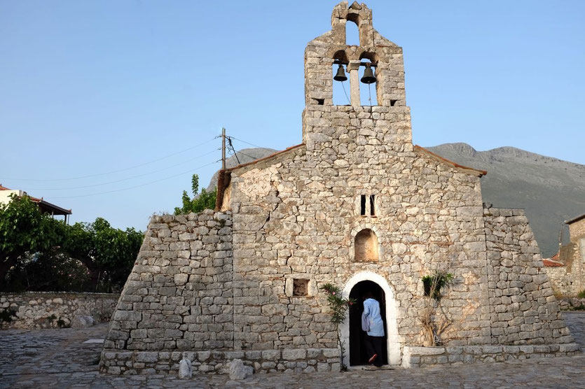 Churches Mani Peloponnese