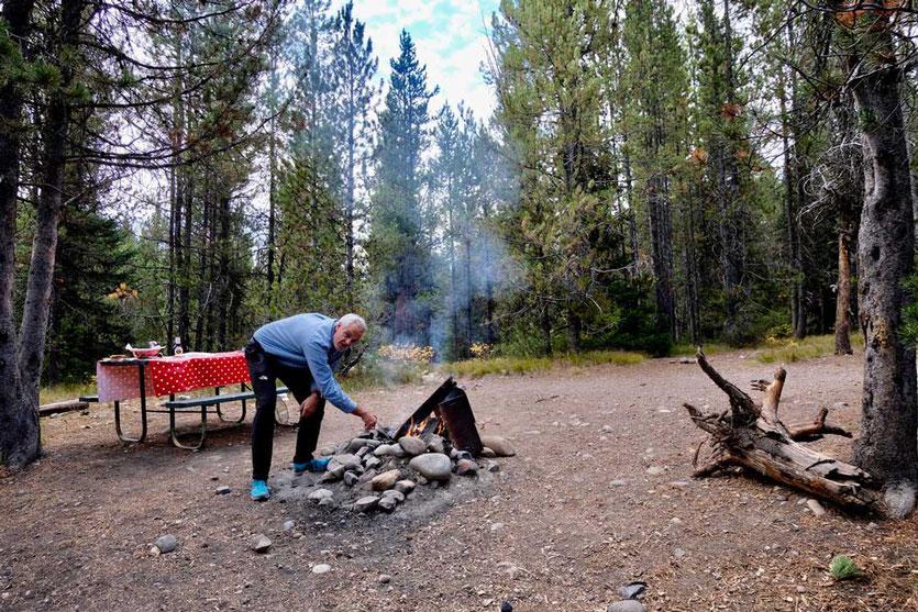 Stellplatz Colter Bay Campground Grand Teton