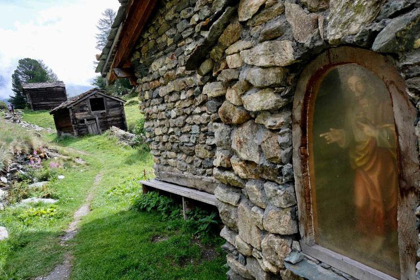 Wanderung Kulturweg Zermatt nach Zmutt