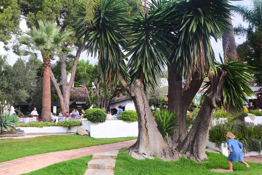Marbella Club Hotel Garten Restaurant costa del Sol