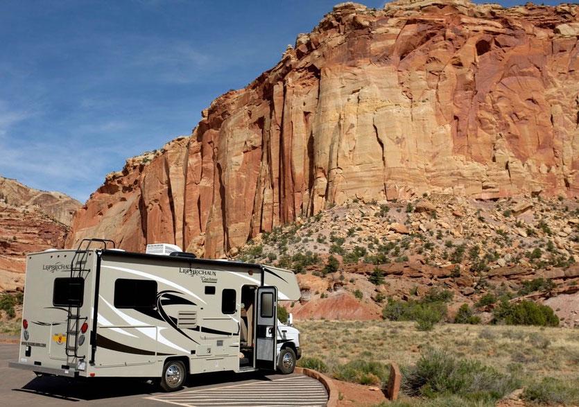 2 Wochen USA West Wohnmobil Routenplan