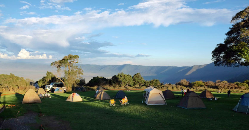 Simba best Campsite Ngorongoro Crater National park