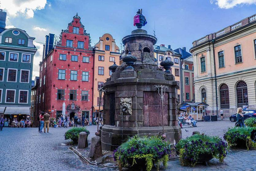 Am Stortorget Platz Stockholm