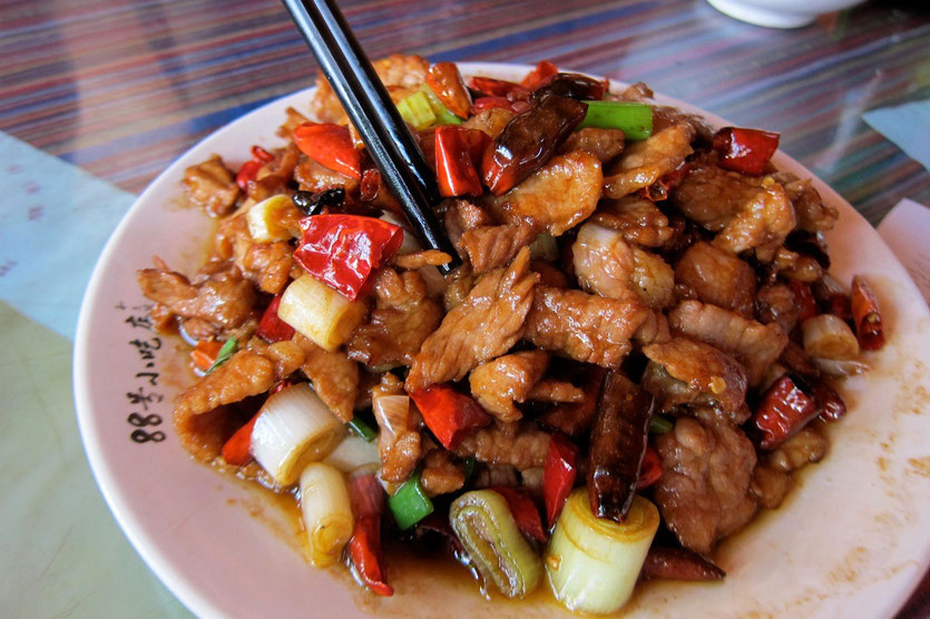 Spicy Pork Naxi Snack 88, Lijiang restaurants