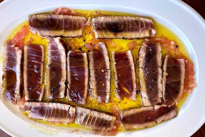 Roter Thunfisch Casa Bigote  Sanlucar