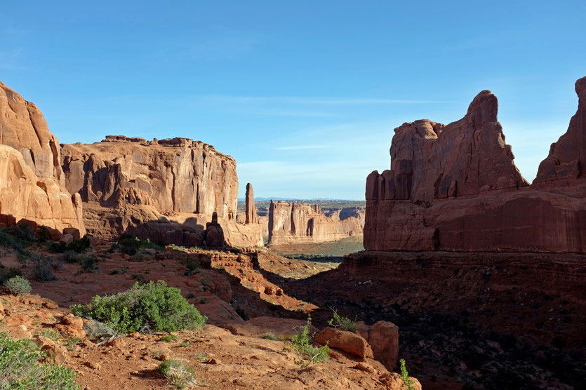Park Avenue, Arches National Park USA Südwesten Utah