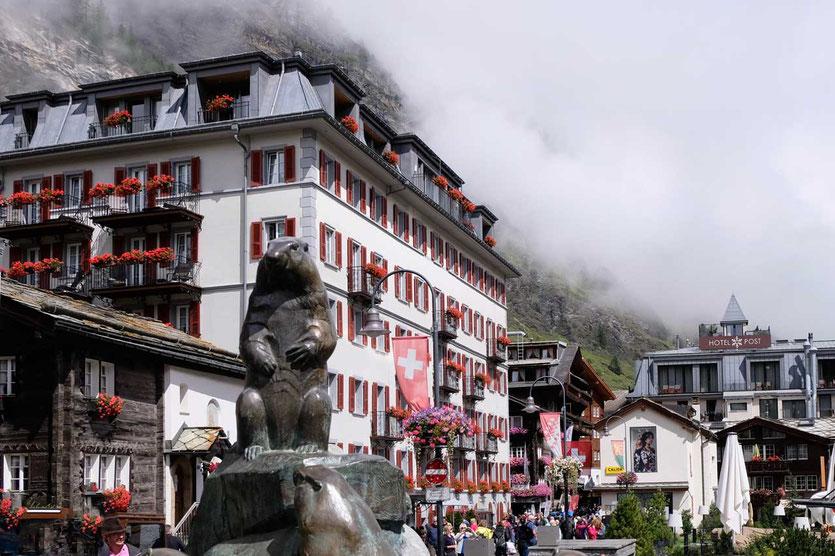 Hotel Monte Rosa Zermatt, Schweiz