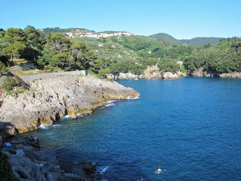 Camping Marelunga am Meer Cinque Terre, Ligurien