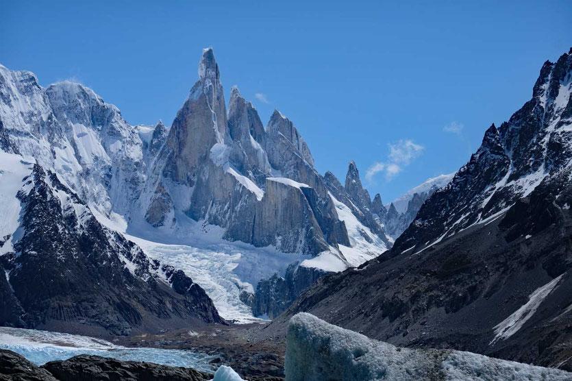 Granitzacken Cerro Torre bei El Chalten
