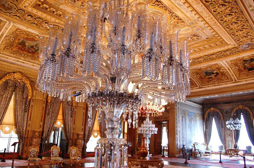 DOLMABAHCE PALACE größter Kronleuchter der Welt
