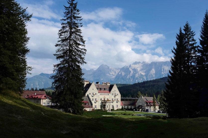 Das Kranzbach Hotel beste Wellnesshotel denkmalgeschütztes Landschloss Bayern