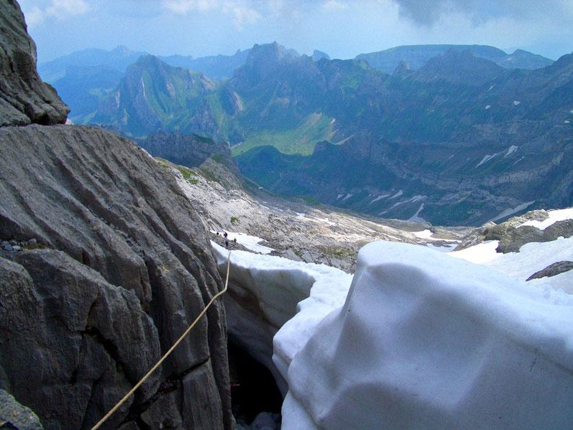 Wanderung zur Meglisalp, Appenzell