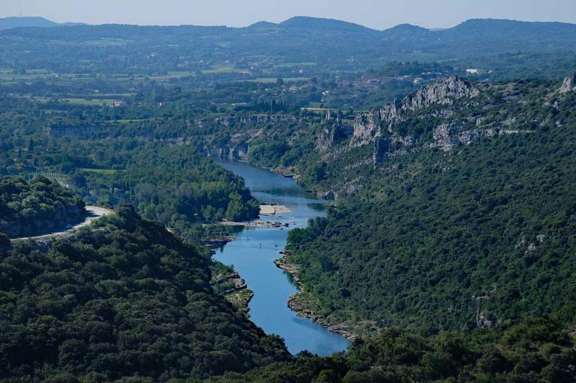Belvedere auf Saint-Martin-d'Ardèche