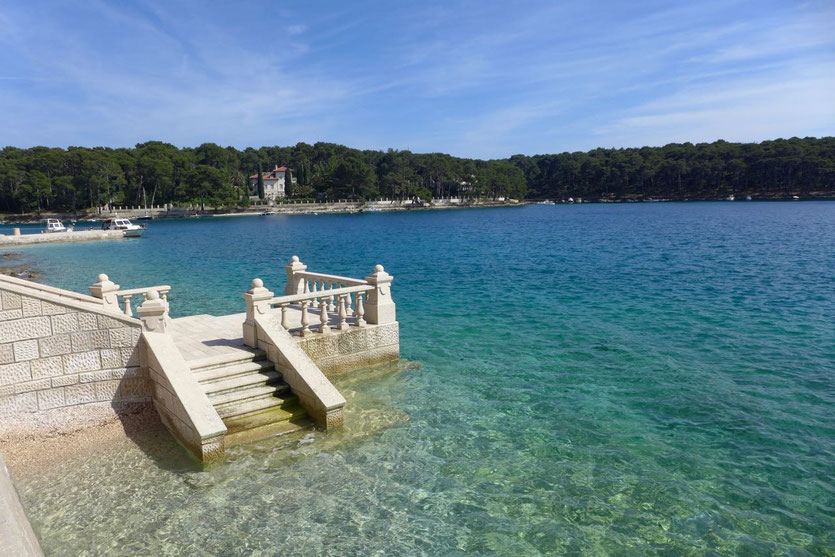 Kroatien Losinj schönste Badebucht Cickat