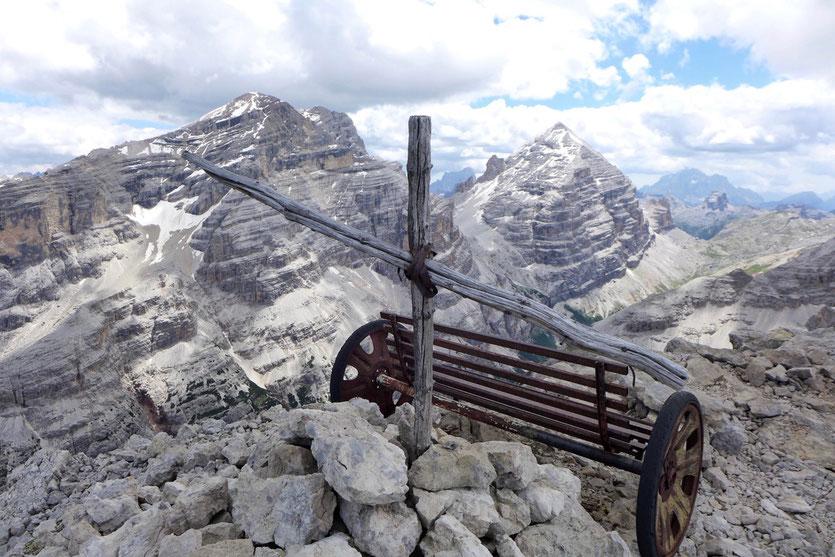 Dolomiten Friedensweg  Sentiero della Pace Cortina d'Ampezzo