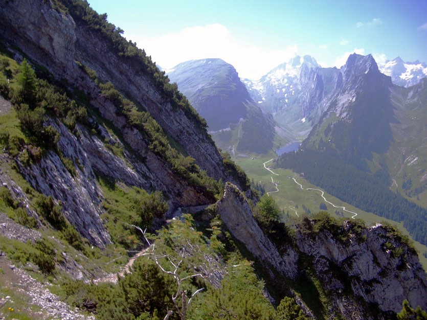 Wanderung Staubern-Bollenwees, Appenzeller Alpen
