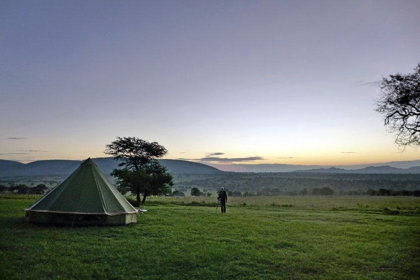 Lobo Campsite Lobo Lodge Nord Serengeti Safari Reise