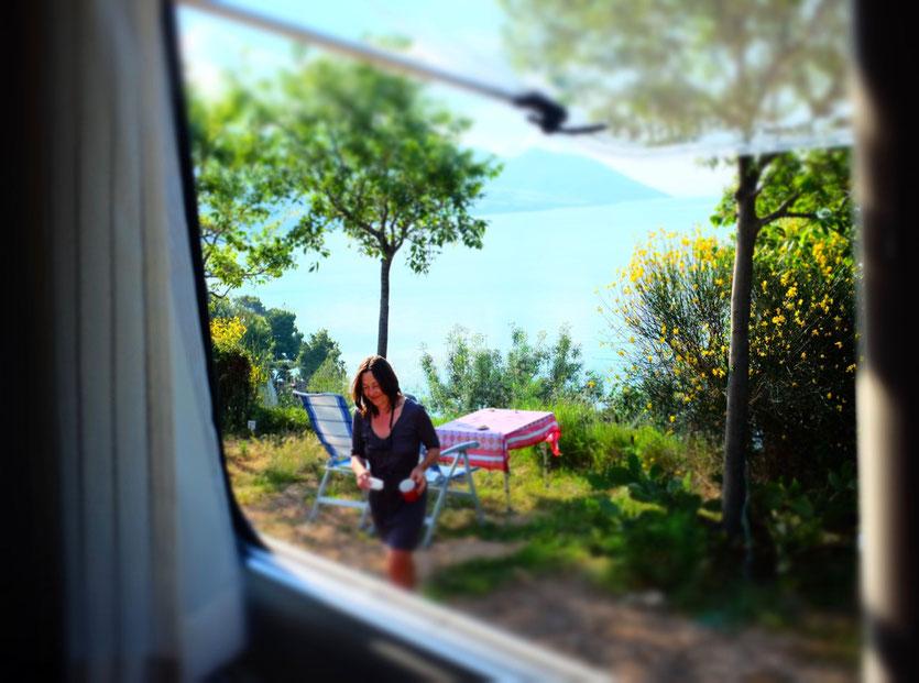 Island Peljesac Croatia Camp Nevio in Orebic Kroatien