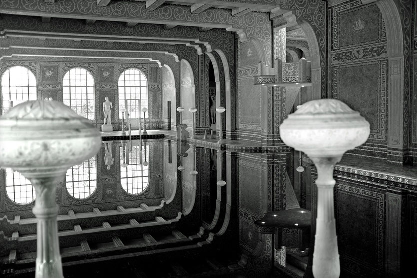Hearst Castle, Indoor-Pool