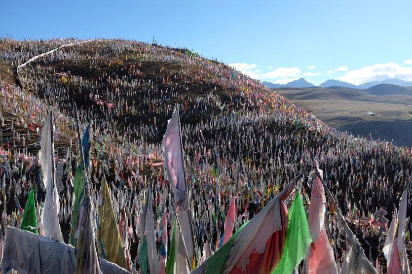 Tibetan Sky funeral tagong