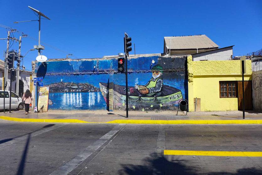 Chile Hafenstadt Coquimbo