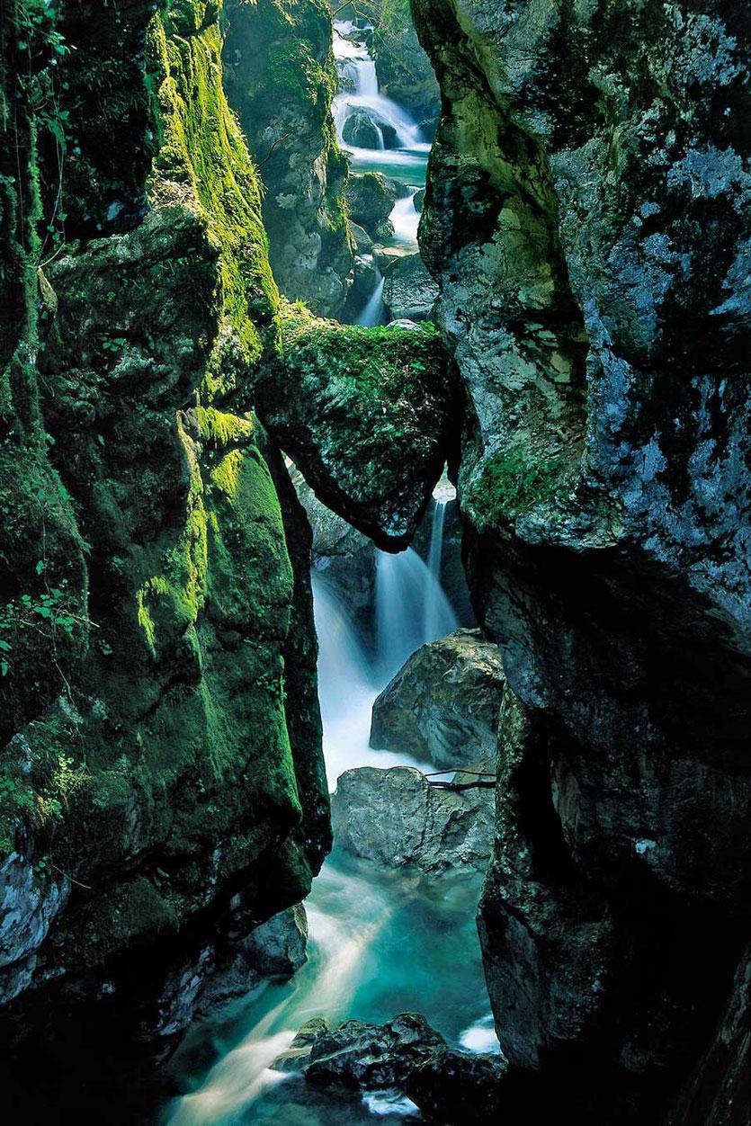 Bärenkopf Tolmin Klamm Slowenien