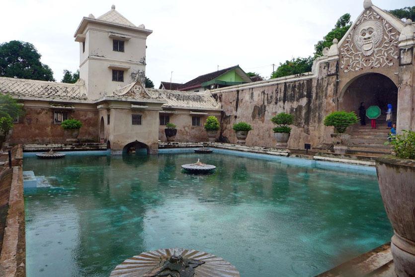 Water castle Yogyakarta Altstadt Indonesien