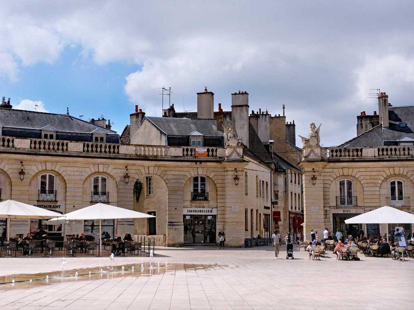 Dijons Place de la Libération