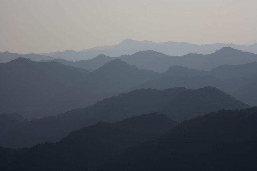 Japan Pilgerweg Kumano Kodo Berge