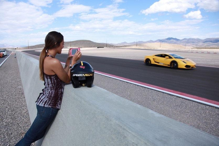 Speedvegas Las Vegas Sportwagen Rennwagen fahren