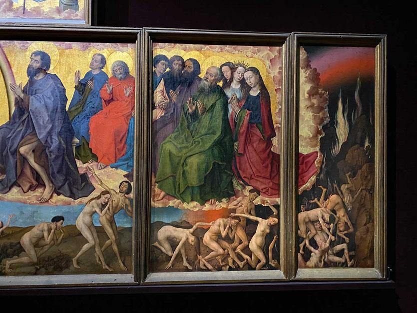 Das 'Jüngsten Gericht' von Rogier van der Weyden Beaune Museum