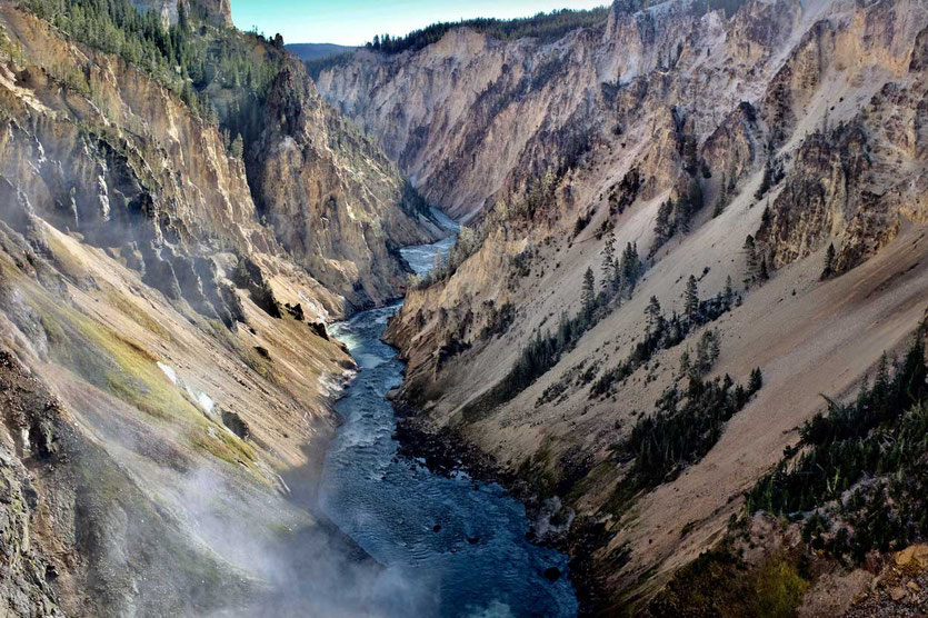 Yellowstone Grand Canyon Yellowstone River