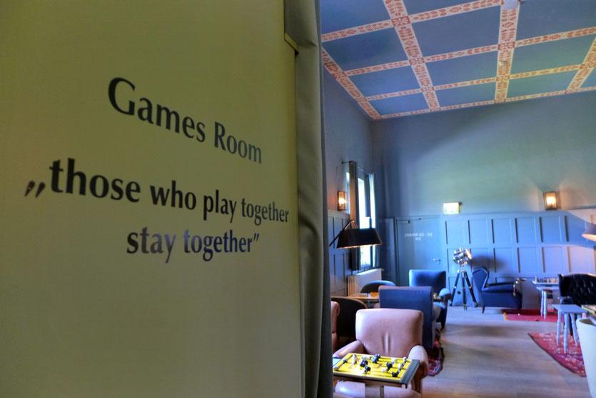 Spielzimmer Games Room Kranzbach Wellness & Design Hotel Bayern