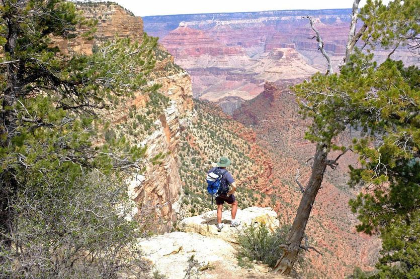 South Rim Trail Grand Canyon Wanderung