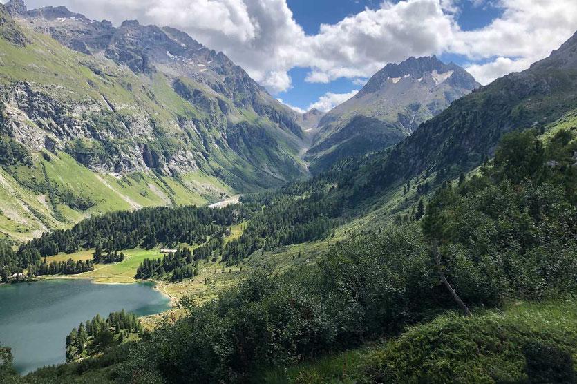 Cavloc See, Val Forno, Maloja