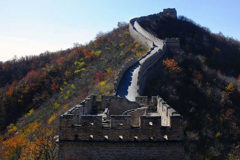 chinesische große mauer wandern, great wall hiking