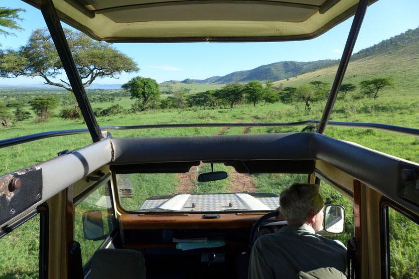 Nord Serengeti Lobo Hills Tansania Safari individuell