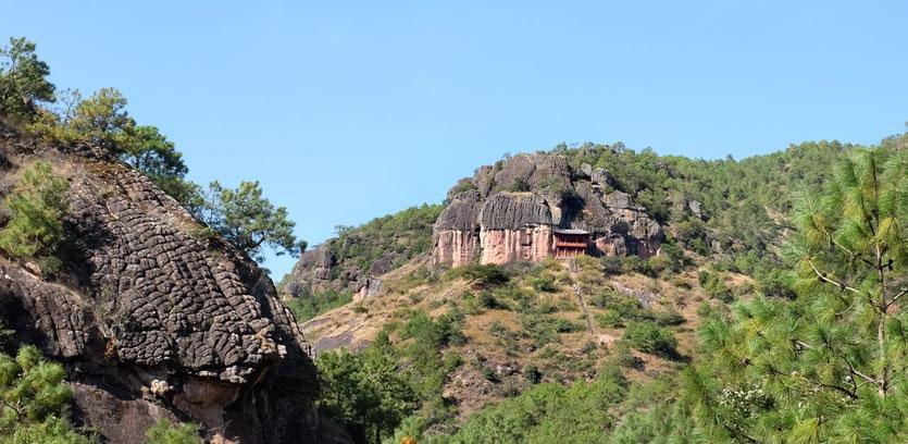 Trekking trail Shizhong Tempel Shaxi