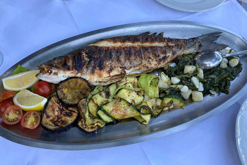 Gegrillter Fisch Gostionica Mala Milna Hvar