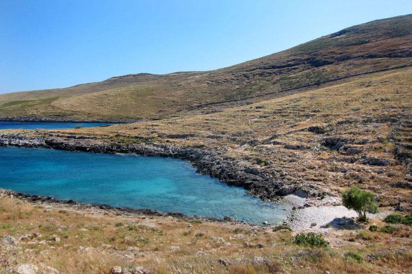 Wanderung zum Hiking Kap Tenaro Peloponnes Mani
