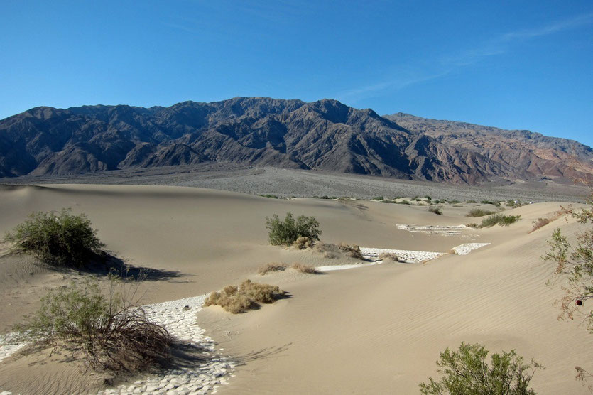 Mesquite Flat Sand Dunes, Death Valley National Park USA Route Südwesten