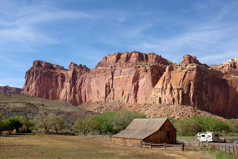 Gifford Barn beim Campground Capitol Reef