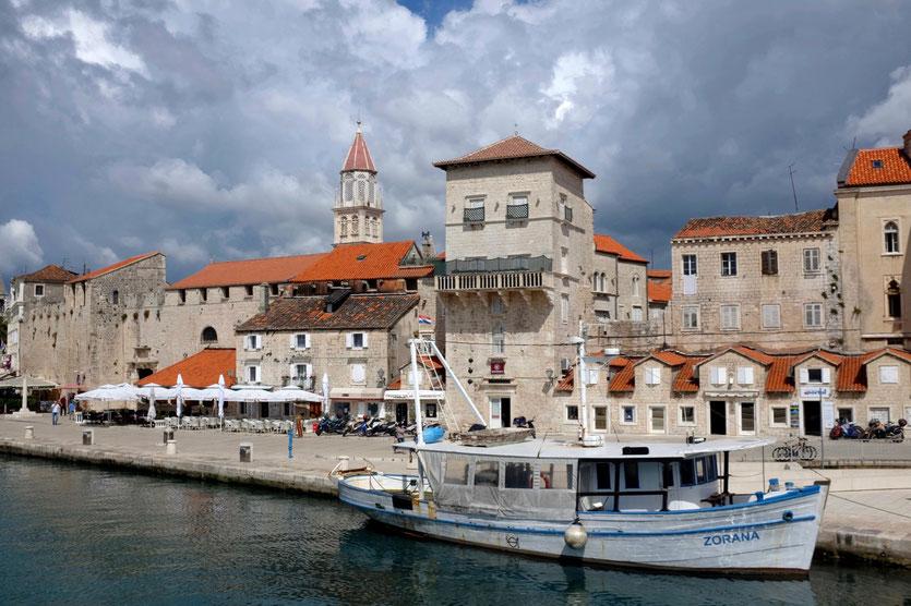 Kroatien Reise Stadt Trogir Sehenswürdigkeiten