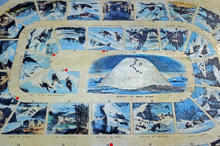 Albert Smith board game Mont Blanc