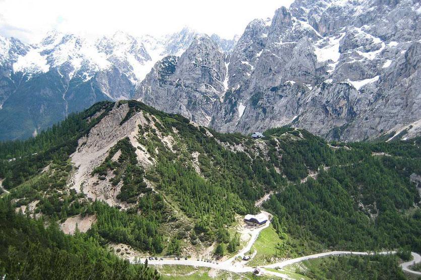 Vršič der höchste Pass Slowenien