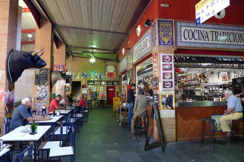 Cafeteria-Bar Triana Markt Sevilla